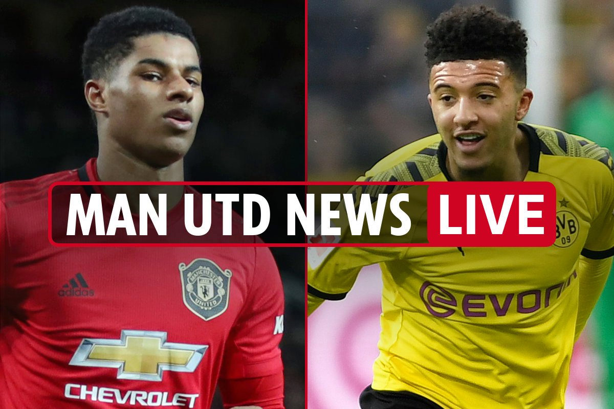 2pm Man Utd news LIVE: Rashford wishes Sancho happy birthday, winger's move doubt over coronavirus, Osimhen top transfer
