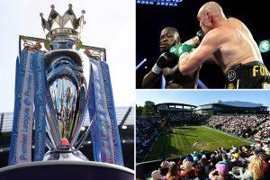 Coronavirus in sport LIVE: Premier League season could be CANCELLED, Wimbledon LATEST, Fury vs Wilder 3 new date