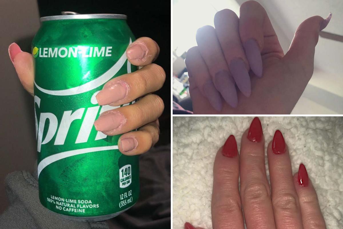 Women desperate for a manicure share their hilarious quarantine nail fails