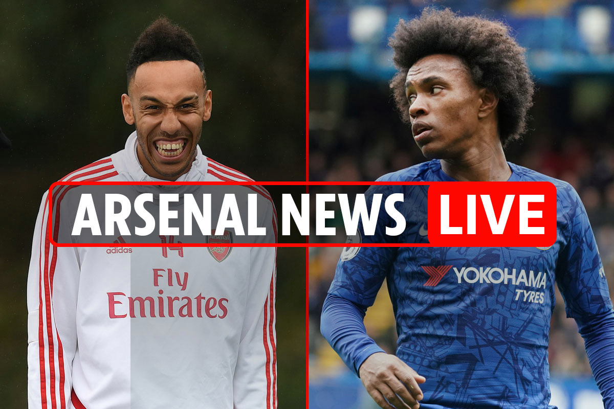 10am Arsenal news LIVE: Aubameyang available for £30m EXCLUSIVE, Willian transfer closer, Luiz's key role in pay cut