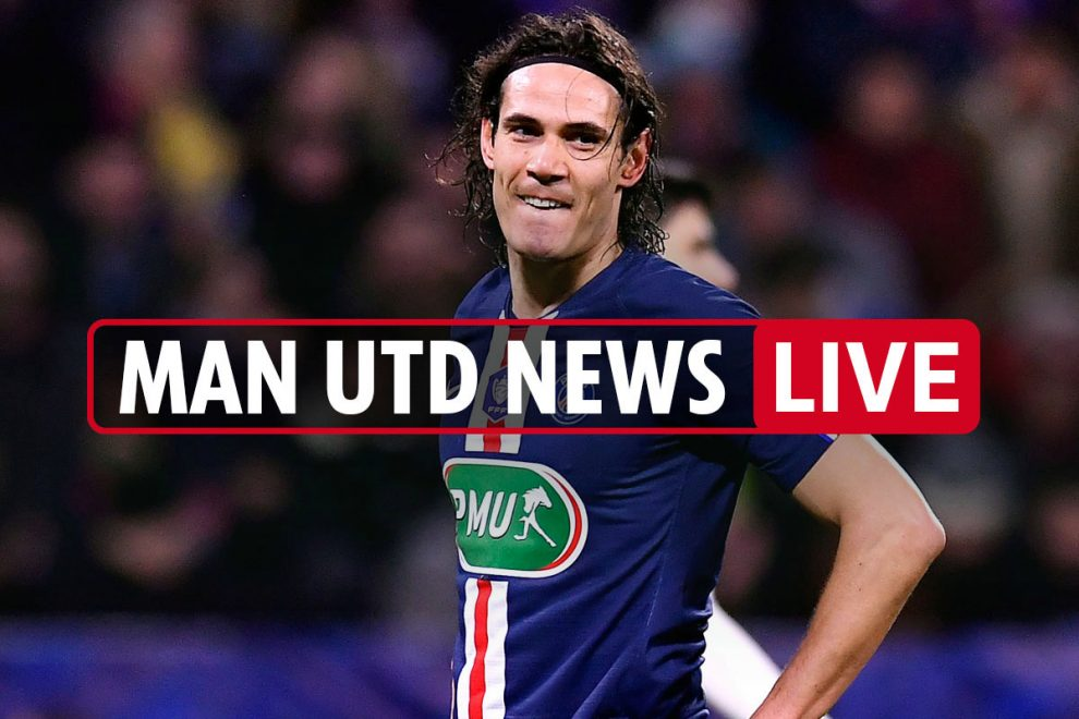 3pm Man Utd news LIVE: Cavani 'serious' interest, Pogba and Lingard to be sold for Sancho transfer funds