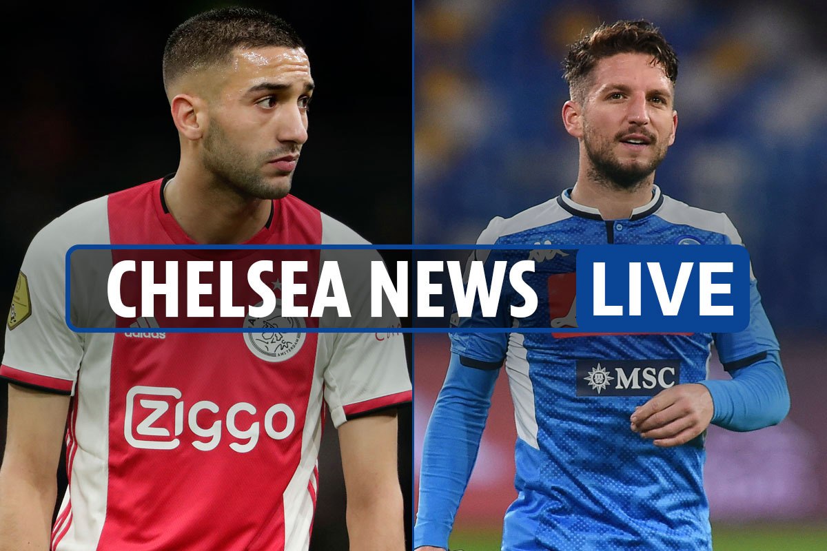 8am Chelsea news LIVE: Mertens 'extremely aggressive' approach, Ziyech will join this season, no Blues pay cuts