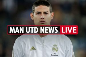 8am Man Utd news LIVE: James Rodriguez talks, Haaland approach before Ighalo transfer decision, Jadon Sancho latest