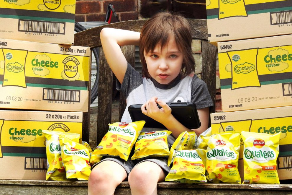 Autistic lad who only eats Quavers gets saved from starving after The Sun delivers 300 bags to see him through lockdown