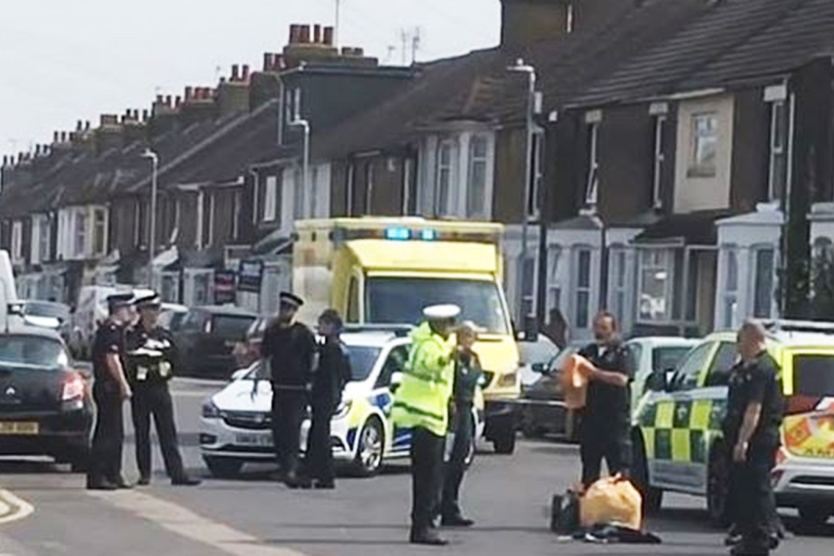 Boy, 17, seriously injured as several others hurt as bikers turn up to mass funeral against coronavirus lockdown rules