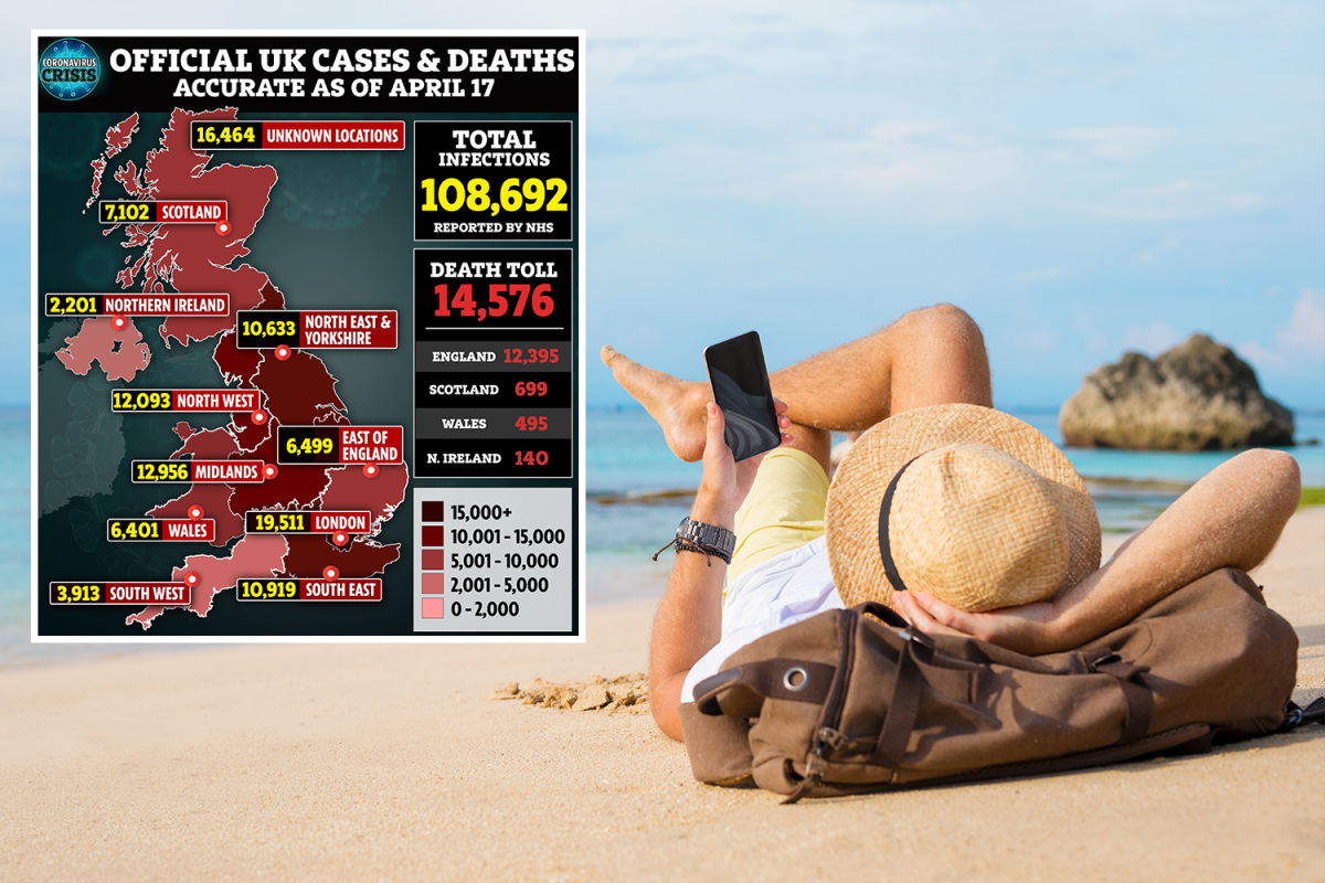 Coronavirus LIVE: UK deaths at 14,576 as vaccine taskforce unveiled and Brits warned not to book summer holidays