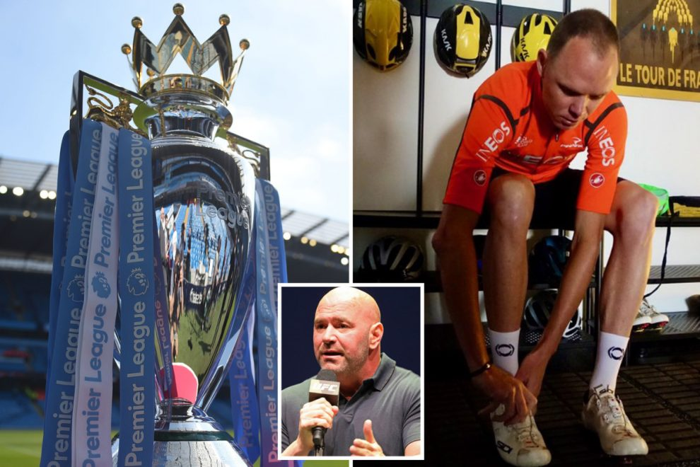 Coronavirus in Sport LIVE: Premier League return LATEST, Tour de France rescheduled, new UFC date, live Darts
