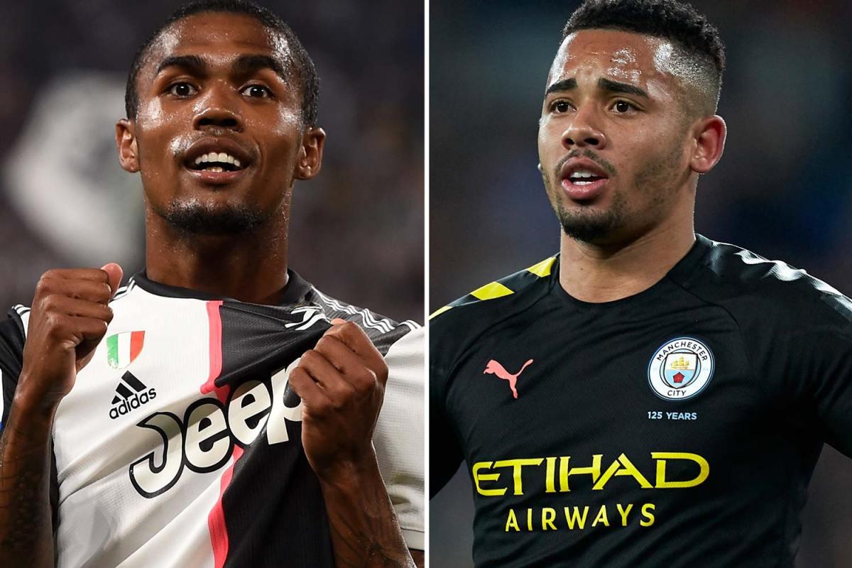 Juventus to offer Douglas Costa to Man City to seal Gabriel Jesus transfer