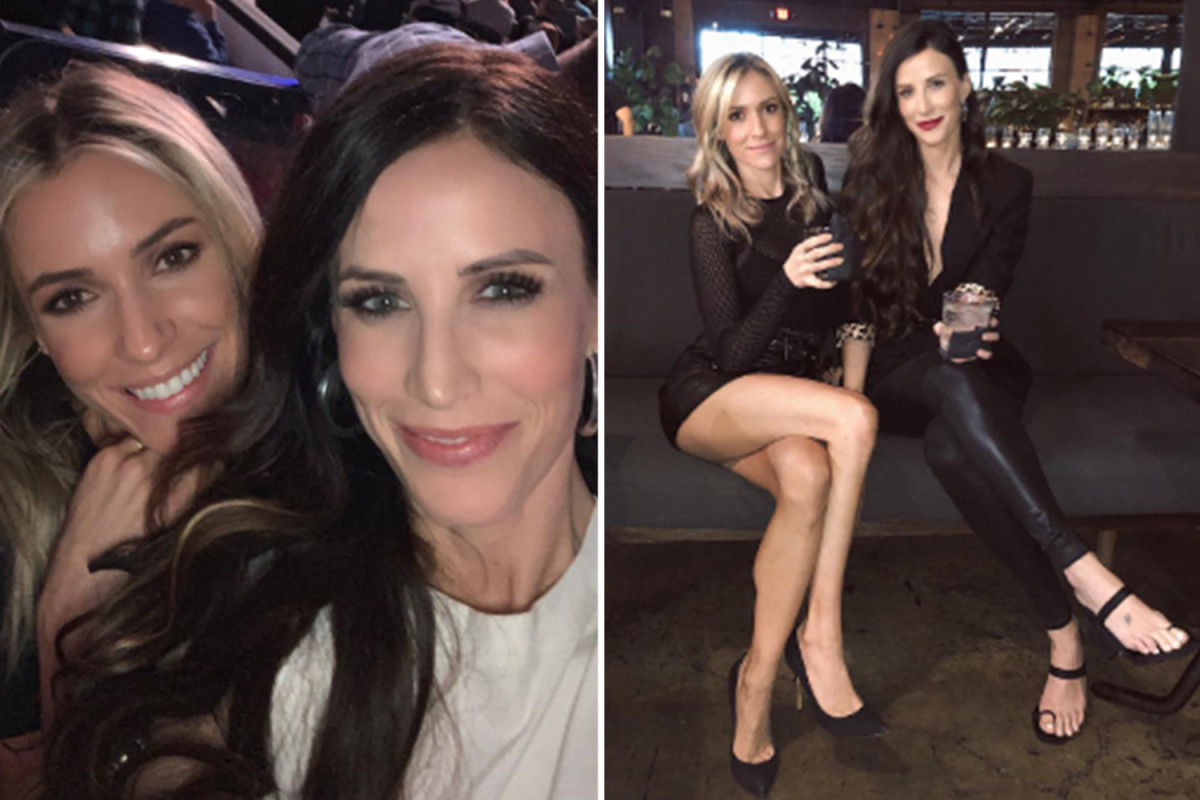 Kristin Cavallari and Kelly Henderson's friendship timeline