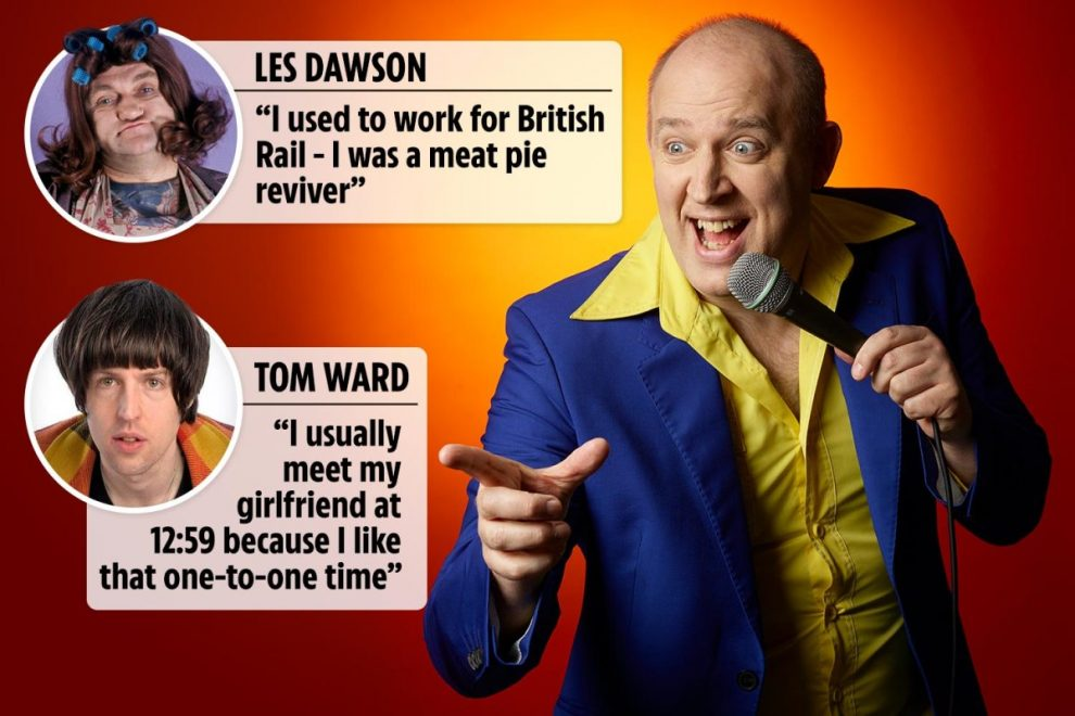 Laugh away the lockdown blues with a selection of Tim Vine's favourite funnies