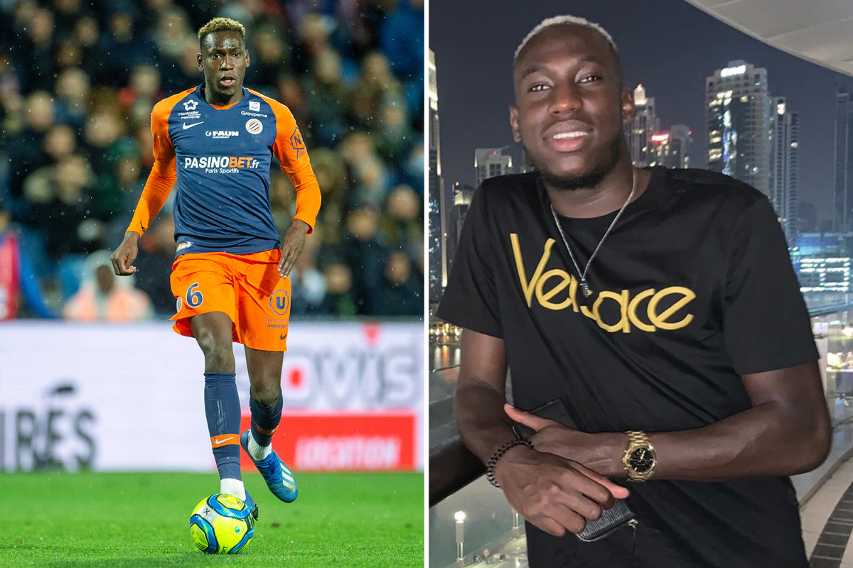Montpellier midfieder Junior Sambia, 23, placed in 'artificial coma' after testing positive for coronavirus