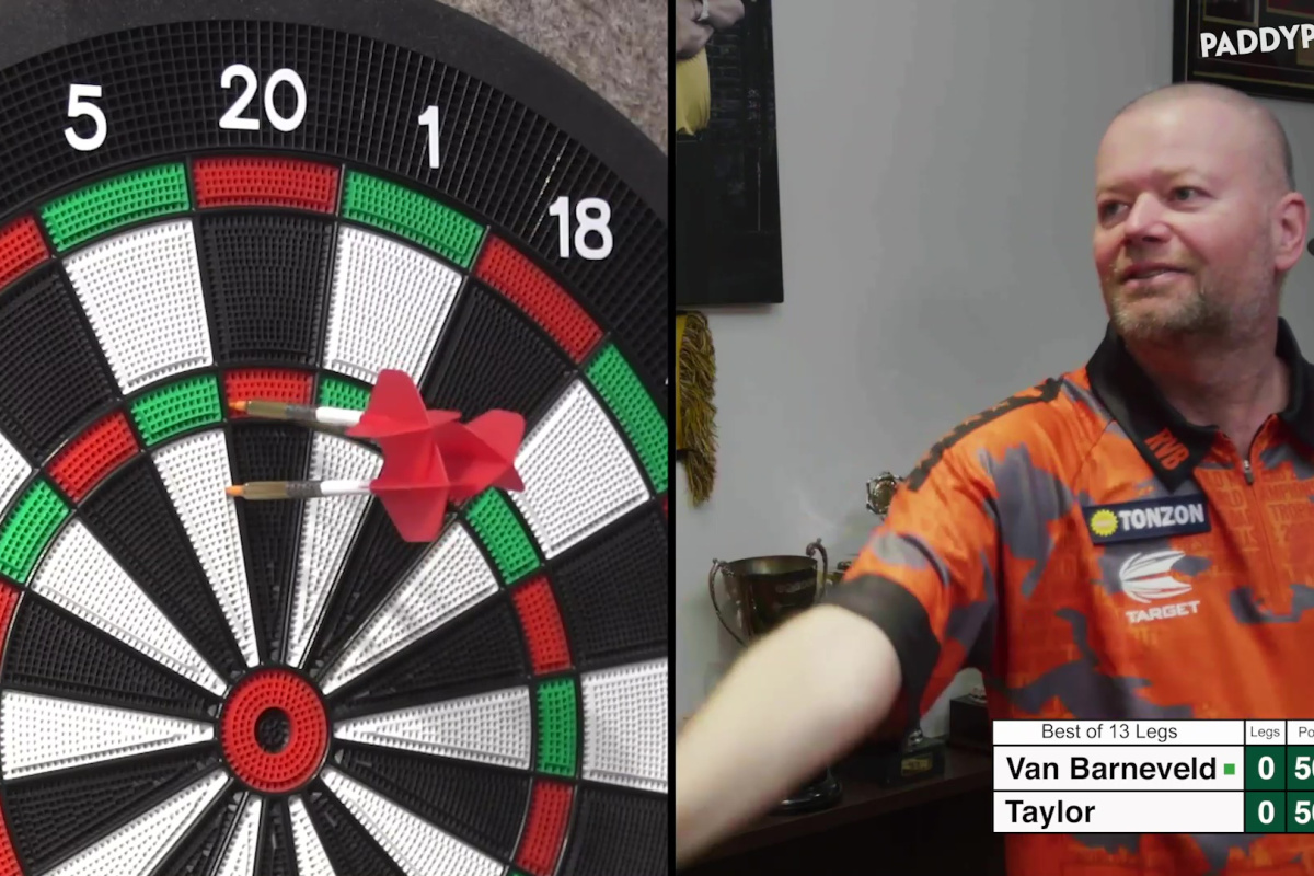 Phil Taylor vs Barney live stream FREE: Watch full replay as Van Barneveld and The Power put on a show in charity match