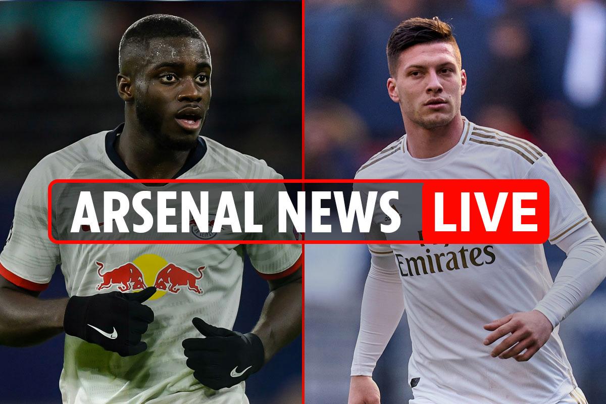 3pm Arsenal news LIVE: Jovic three-way battle, Upamecano transfer boost, Fekir targeted, Partey and Aubameyang LATEST