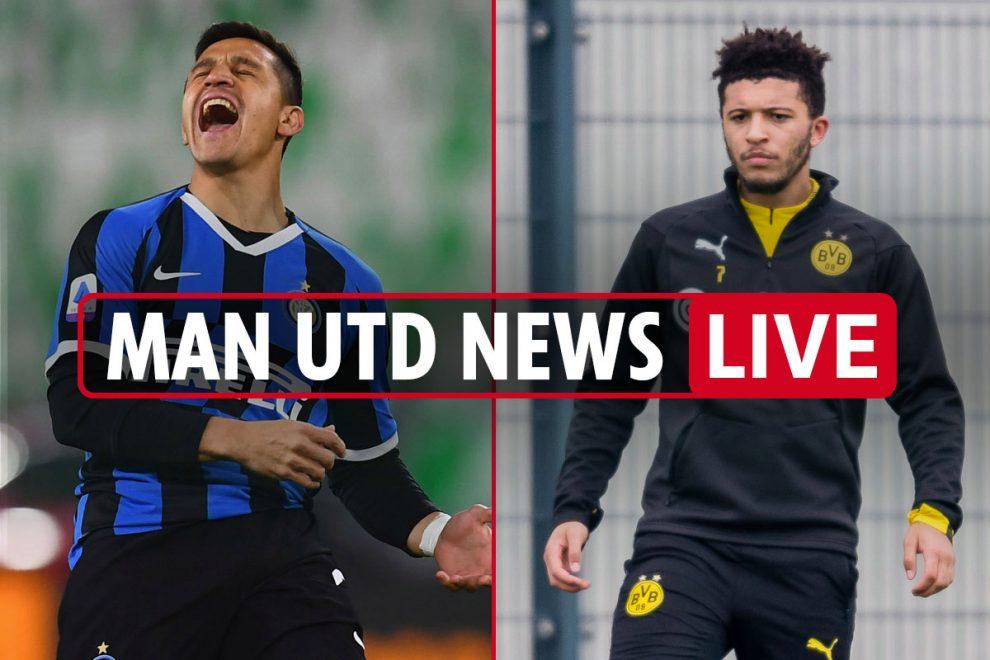 8.15am Man Utd news LIVE: Sancho has 'understanding' to leave Dortmund, Sanchez blasts Mourinho 'atmosphere'