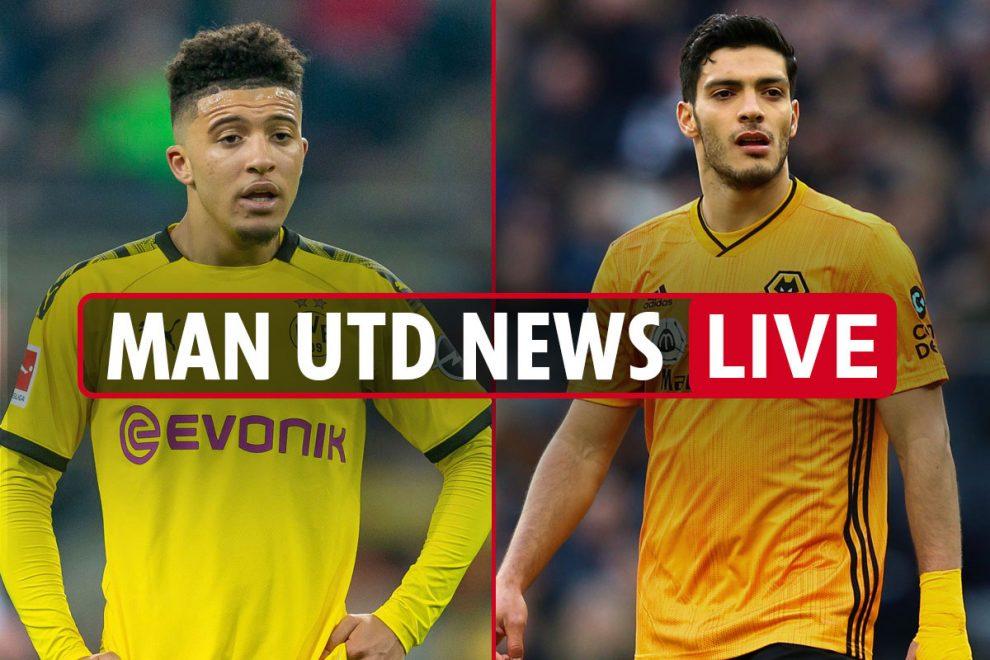 9.45pm Man Utd news LIVE: Jimenez top target, Sancho transfer 'discouraging' Gomes, Matondo is backup plan