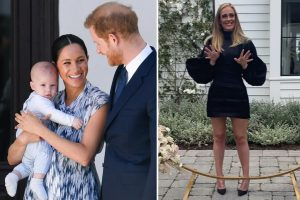 Adele 'secretly coaching Prince Harry and Meghan on settling into Beverly Hills life and Archie's schooling'