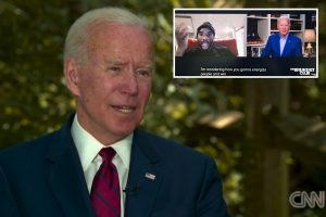Biden says his controversial 'you ain't black' Trump voter comments came after host Charlamagne Tha God was 'a wise guy'