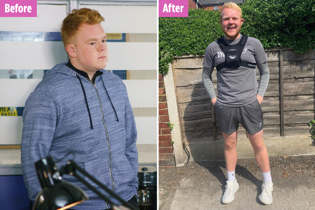 Coronation Street's Colson Smith jokes he'll 'have to wear fat suit' when he returns to filming after 'losing ten stone'