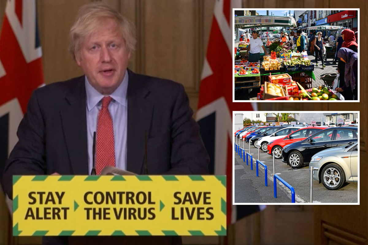 Coronavirus UK LIVE: All non-essential shops to reopen by June 15 as Dominic Cummings 'doesn't regret' 260-mile trip