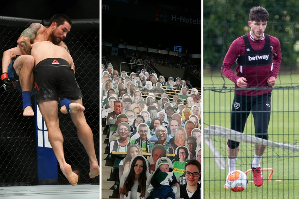 Coronavirus in Sport LIVE: Premier League return in June LATEST, Bundesliga build-up, UFC results