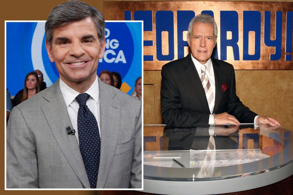 GMA's George Stephanopoulos says it would be 'fun' to be next Jeopardy host if cancer-stricken Alex Trebek steps down