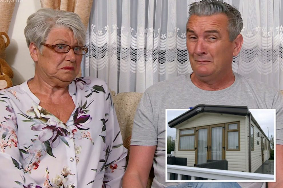 Gogglebox fans stunned as Lee reveals the caravan is his home not Jenny's as show goes off air
