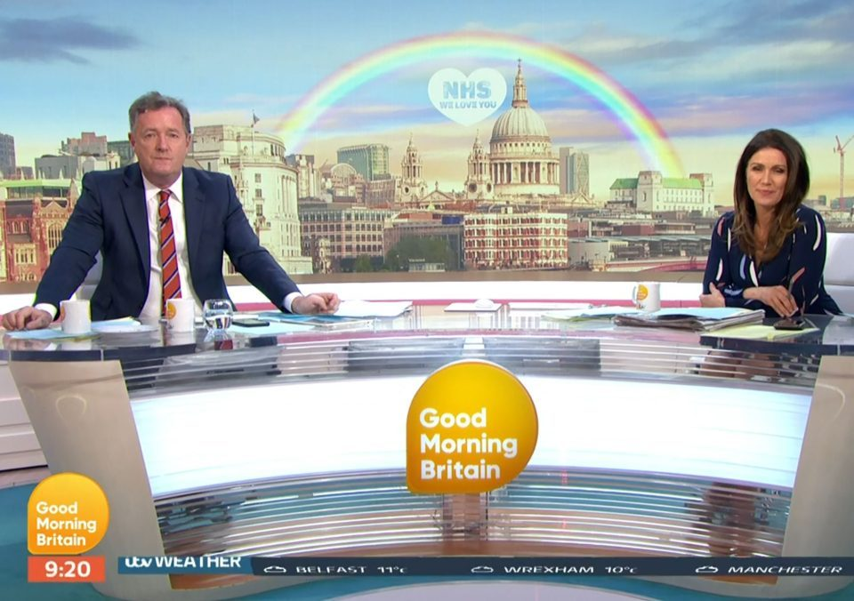 Good Morning Britain say Piers Morgan will find out if he has coronavirus TODAY
