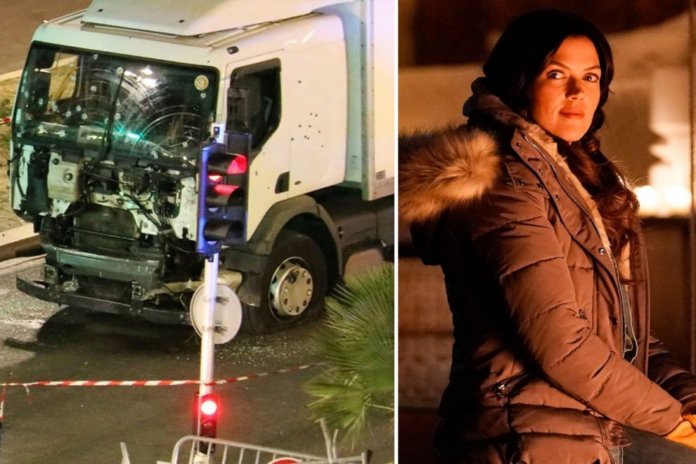 Labor of Love Kristy bursts into tears as she says she was in a terrorist attack in France during trip to 'find herself'