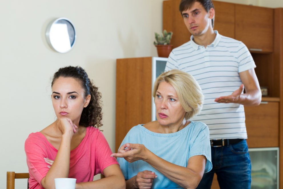 My parents have it in for my partner and won't stop criticising her parenting