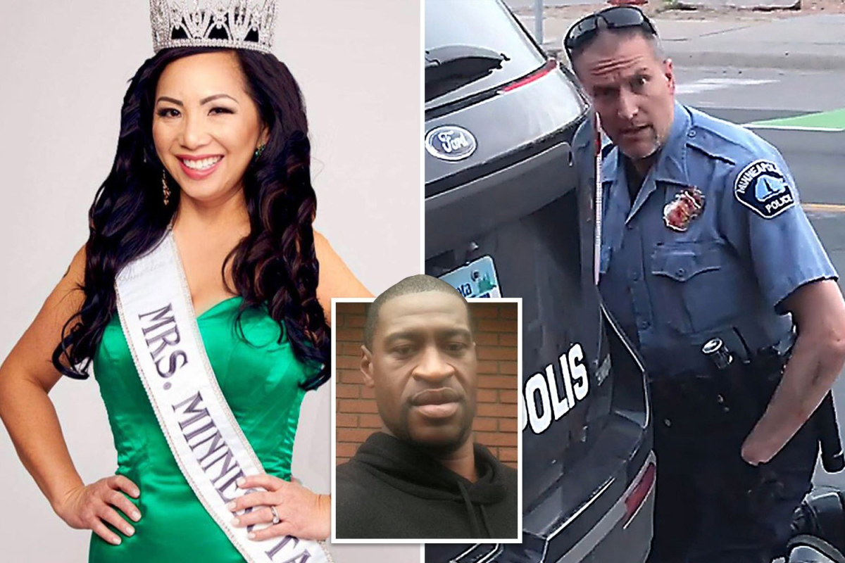 Pageant-winner wife of cop charged with murdering George Floyd 'was accused of writing bad $42 check'