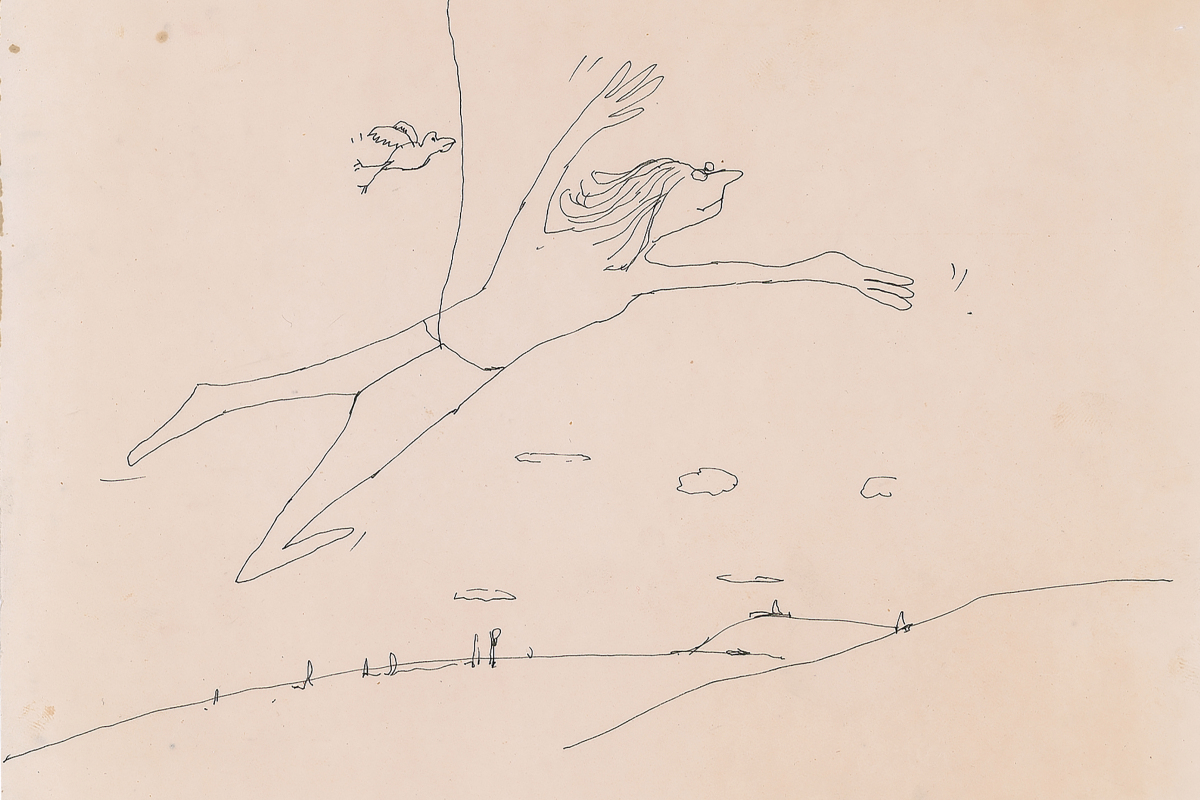 Sketch by Beatles legend John Lennon is set to sell for £12,000
