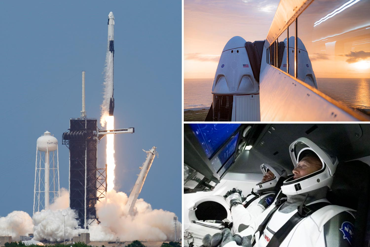 SpaceX launch LIVE updates: Watch in UK as NASA launch Crew Dragon spacecraft
