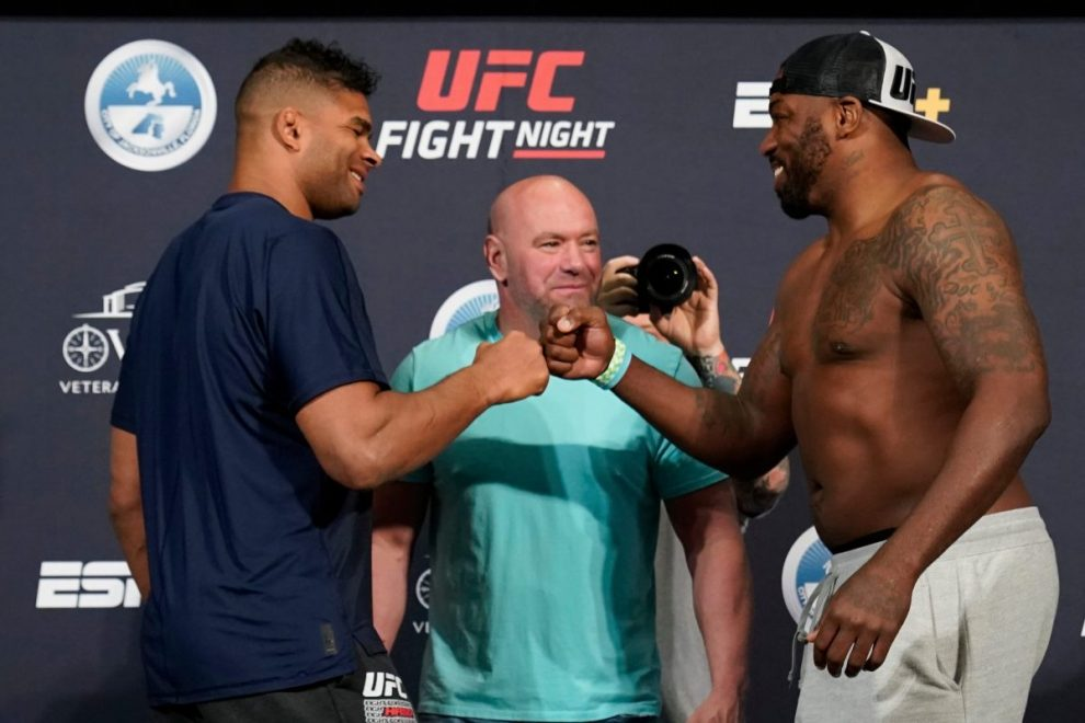 "UFC Fight Night 176 LIVE RESULTS: Overeem vs Harris latest – Ige beats Barboza by split decision, Vera says ""f*** this"""