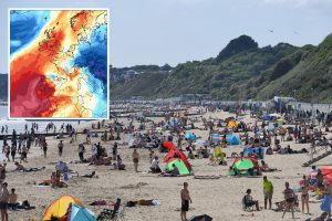 UK weather – Britain to be hotter than Bermuda as sunbathers set to enjoy 26C heatwave on Bank Holiday Monday