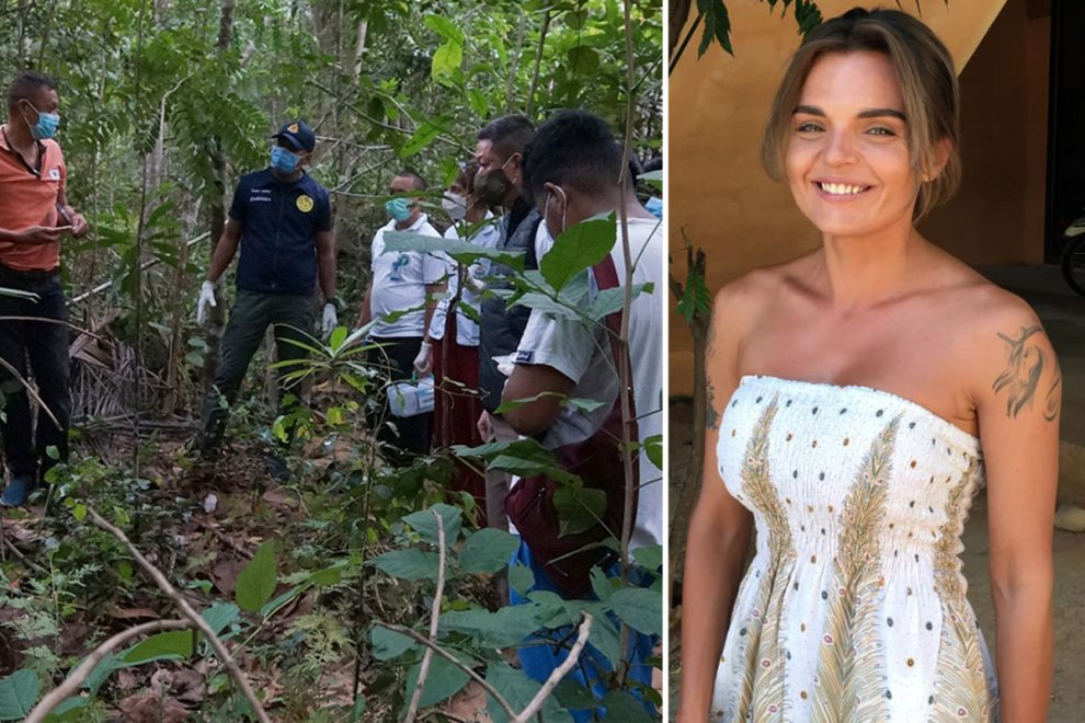 'Murder' mystery as tourist, 32, found dead on Thai island as cops hunt boyfriend to quiz over 'love triangle'