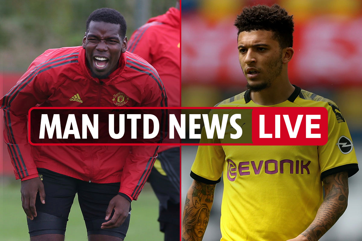 8.15am Man Utd news LIVE: Pogba to be BENCHED for Spurs, Sancho to Man City, Grealish 'to push' for £75m United transfer