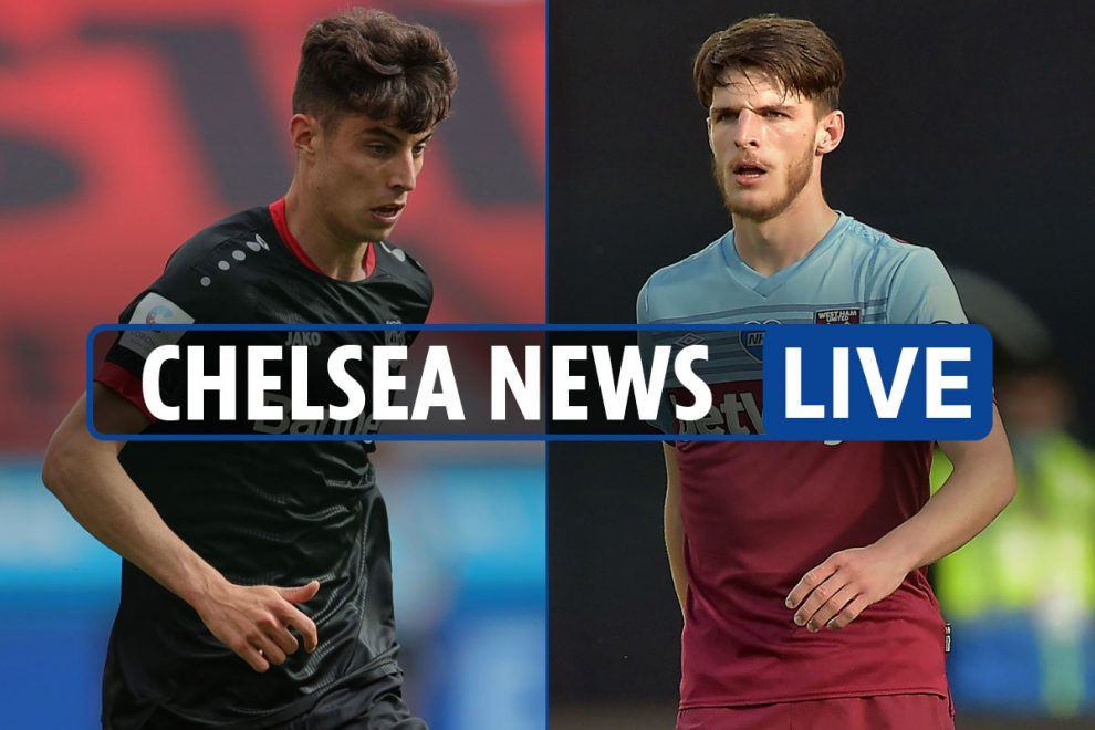 8am Chelsea news LIVE: Kai Havertz transfer LATEST, Christian Pulisic injury updates, Declan Rice EXCLUSIVE