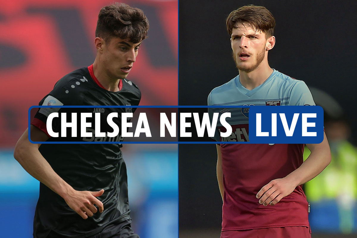 8am Chelsea news LIVE: Kai Havertz transfer LATEST, Christian Pulisic injury updates, Declan Rice EXCLUSIVE