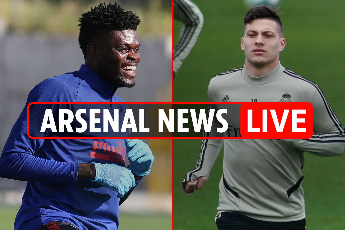9.45pm Arsenal news LIVE: Partey release clause WILL be met, Jovic loan, Upamecano 'must join in next three weeks'
