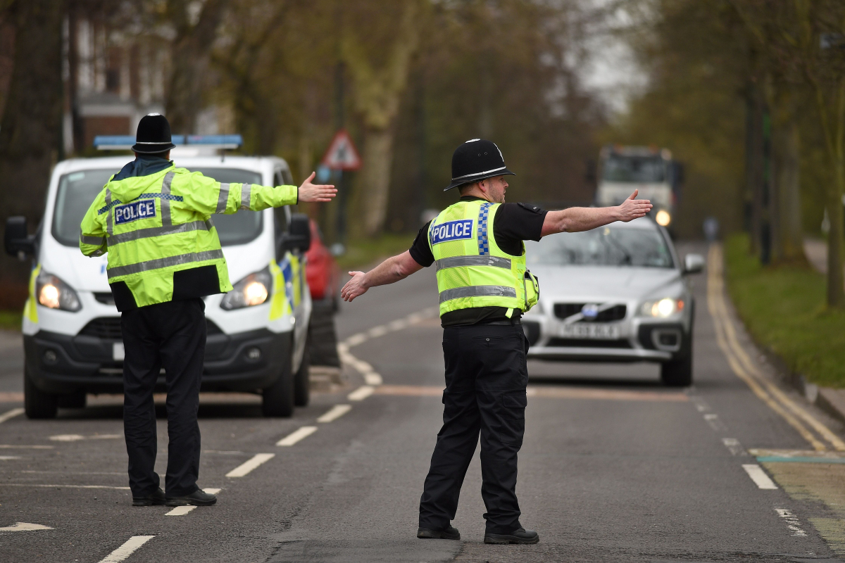 Cops will turn back drivers fleeing Leicester's lockdown to make sure locals are complying with the city's new rules