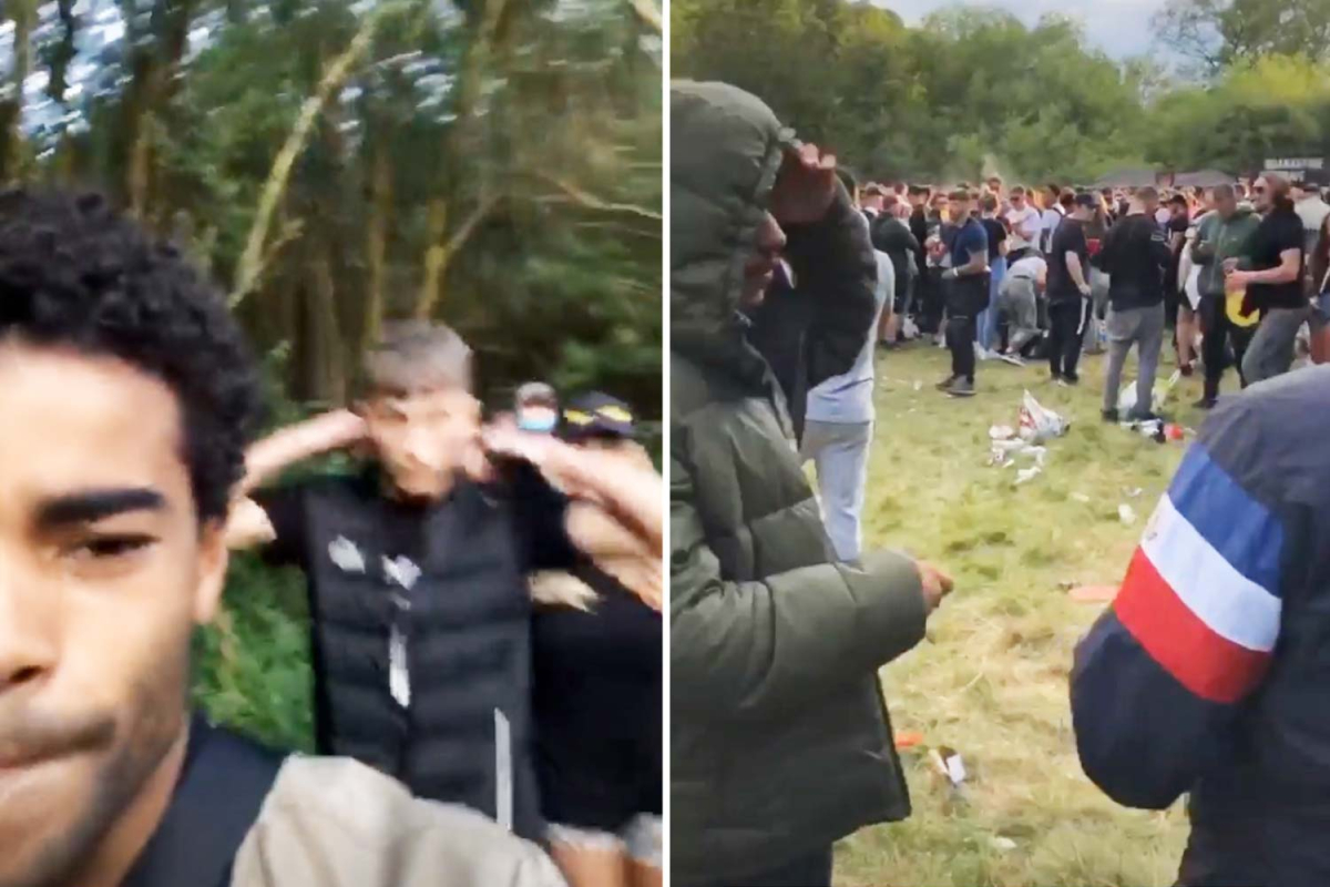 I'm A Celeb star and Hollyoaks actor Malique Thompson-Dwyer goes to illegal 'quarantine rave' where 20-year-old died