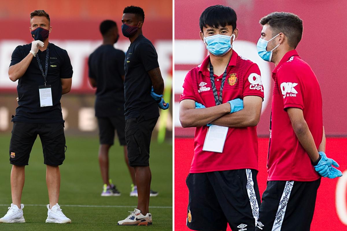 Mallorca 0-1 Barcelona LIVE SCORE: Arturo Vidal puts Barca ahead, Lionel Messi starts with Ronald Araujo and Braithwaite