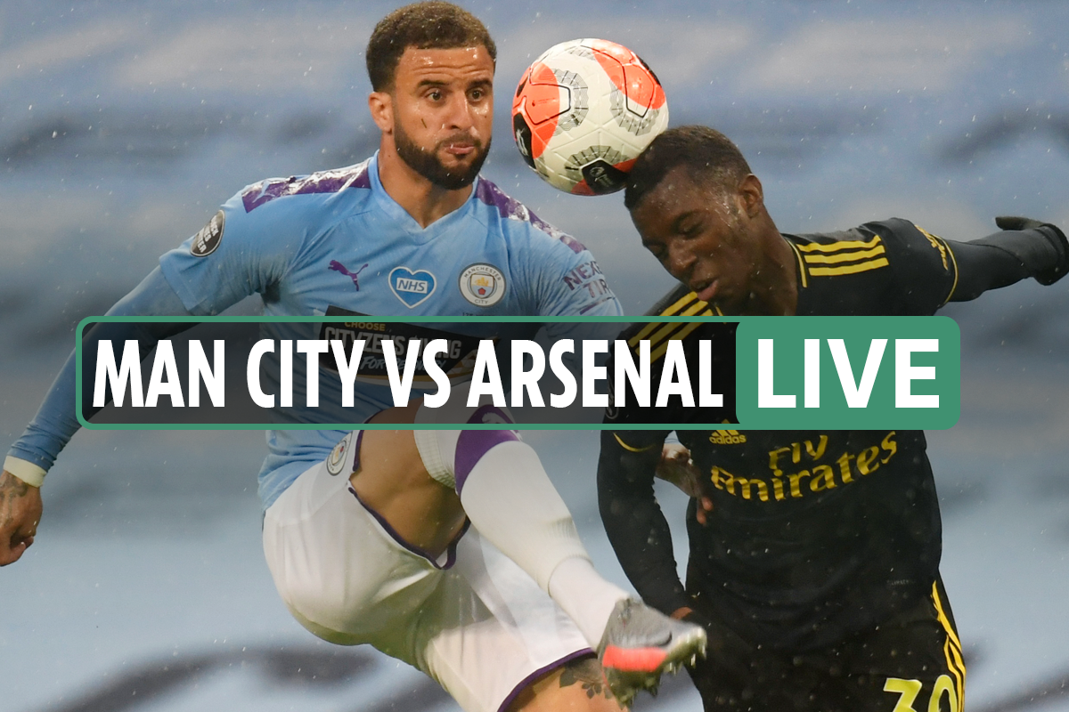 Man City vs Arsenal LIVE: Stream, score, TV channel as Xhaka injured after EIGHT minutes – Premier League updates