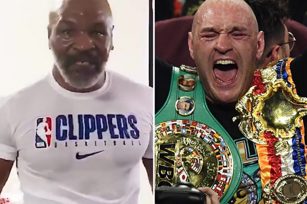 Mike Tyson and Tyson Fury have offer from ESPN to televise 'legendary' fight as Brit eyes exhibition vs 53-year-old