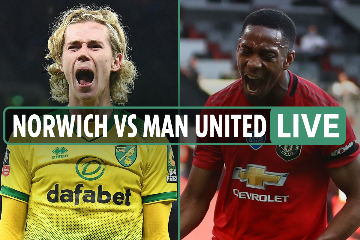 Norwich vs Man Utd FREE: Live stream, TV channel, teams and kick-off time for FA Cup quarter-final fixture