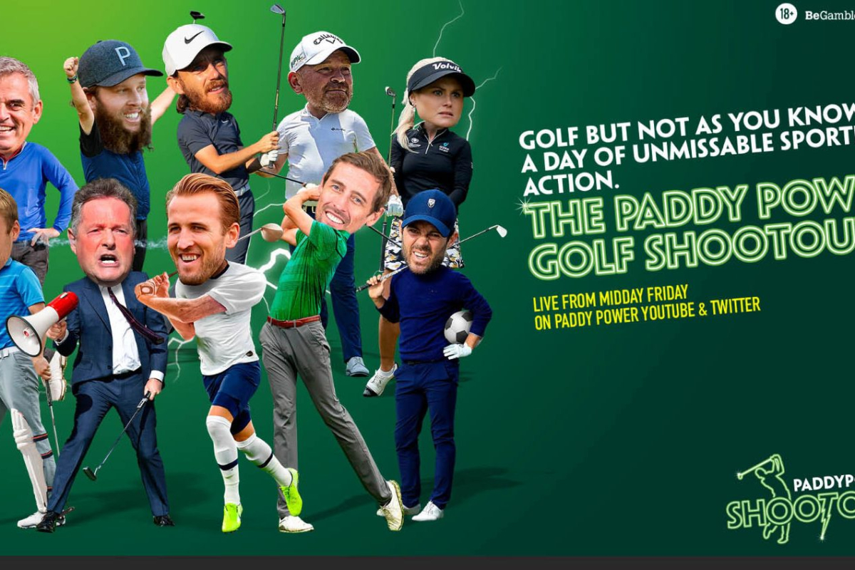 Paddy Power golf shootout: Start time, live stream FREE as Piers Morgan, Harry Kane, Jamie Redknapp and more face off
