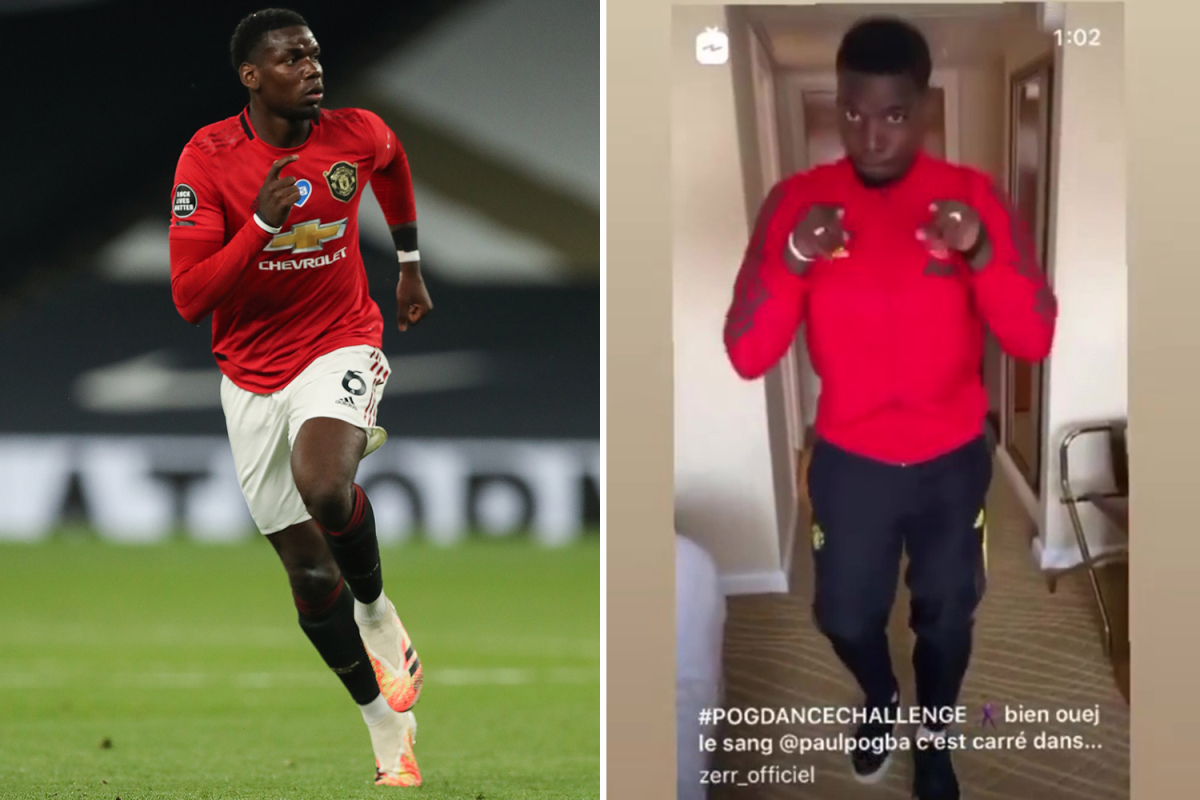 Paul Pogba launches Pogdance challenge hours after inspiring Man Utd to comeback draw against Tottenham