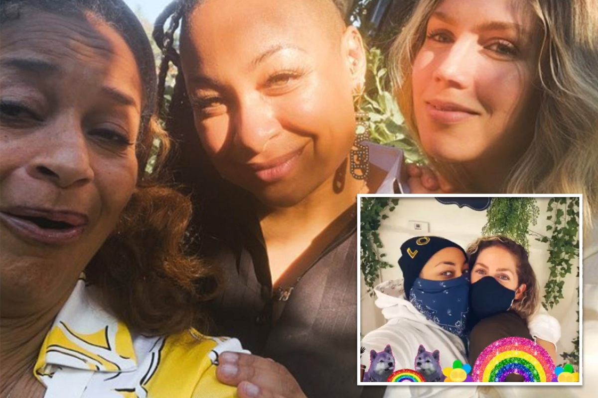 Producer Debbie Allen reveals she was the caterer for Raven-Symone's small wedding to new wife Miranda