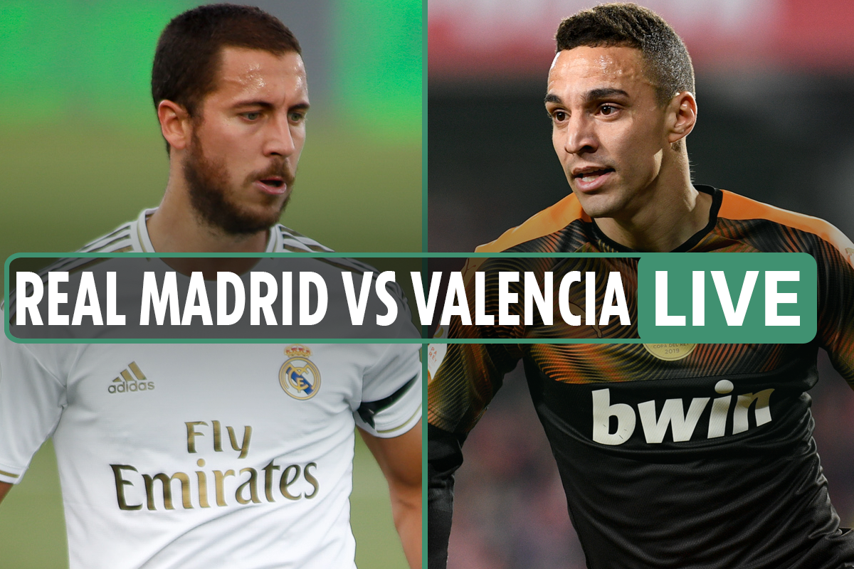 Real Madrid 0-0 Valencia: FREE live stream, TV channel and minute-by-minute updates as Rodrigo goal ruled offside