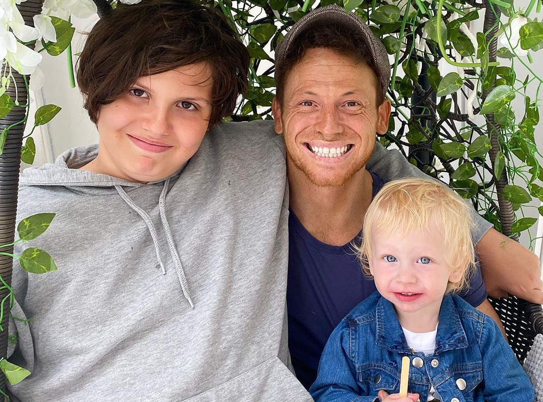 Stacey Solomon shares rare snap of Joe Swash with his eldest son Harry and calls him 'best role model'
